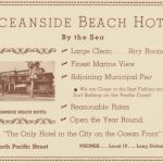 Beach Hotel ad, Margo Program 1936